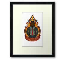 DCI Luther Framed Print