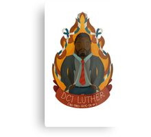 DCI Luther Metal Print
