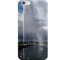 Jet d'eau and rainbow iPhone Case/Skin