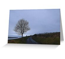 Inch island Bleakness Greeting Card