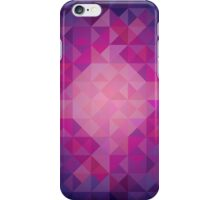 Colorful Cool Toned Triangles Phone Case iPhone Case/Skin