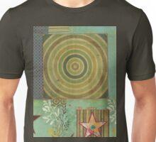 Teal Bullseye Unisex T-Shirt