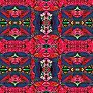 Harlequin Leaf Duvet by GolemAura