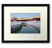 Beijing: Within The Forbidden City Framed Print