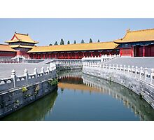 Beijing: Within The Forbidden City Photographic Print