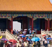 Beijing: Touring the Forbidden City Sticker