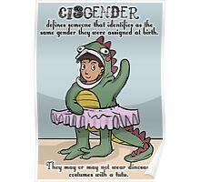 Cisgender poster Poster