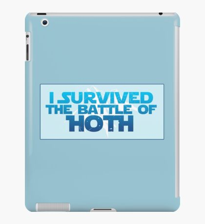 I Survived The Battle of Hoth iPad Case/Skin