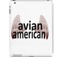Avian American iPad Case/Skin