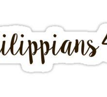 Philippians 4:6 Sticker