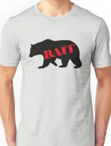 black bear bait Unisex T-Shirt