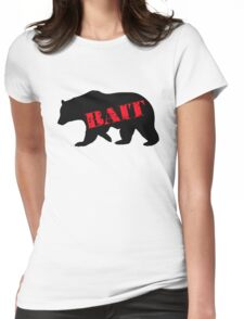 black bear bait Womens Fitted T-Shirt