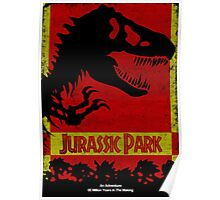 Unofficial Jurassic Park Movie Poster Poster
