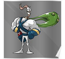 0002 - Earthworm Jim Poster
