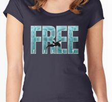 Free Tilly Original Digital Art  Women's Fitted Scoop T-Shirt