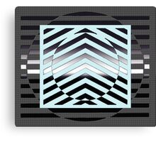 Abstract style kinetic style  Canvas Print
