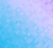 Blue and Purple Pattern Phone Case by snja