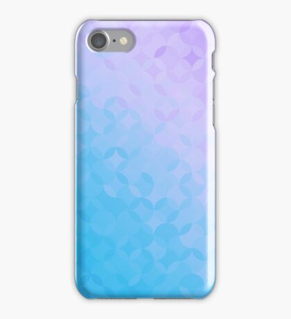 Blue and Purple Pattern Phone Case iPhone Case/Skin