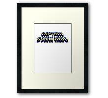 Cap n Com Framed Print