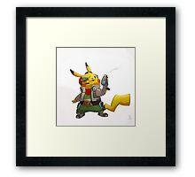 0004 - Pika McCloud Framed Print