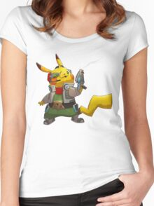 0004 - Pika McCloud Women's Fitted Scoop T-Shirt