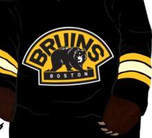 Boston Bruins Bear Sticker