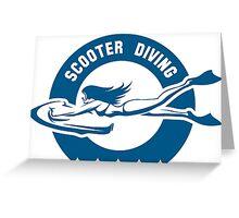 Sea bob Driver emblem  Greeting Card