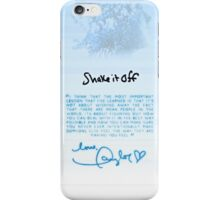 Taylor Swift - Shake It Off phone case - BLUE iPhone Case/Skin