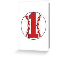1 Red Sox Doerr Greeting Card