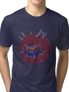 Cacodemon ASCII Tri-blend T-Shirt