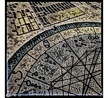 Horoscope Abstracted Photographic Print