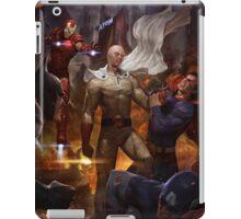 Saitama vs Superheroes iPad Case/Skin