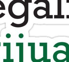 Megalize Larijuana  Sticker