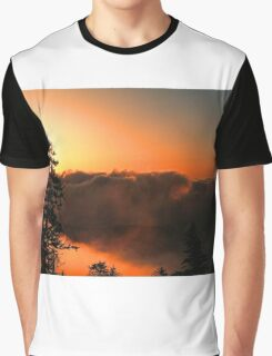 CLOUDS AT SUNRISE,CLINGMANS DOME Graphic T-Shirt