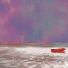 Wee Red Boat by Kasia-D