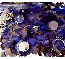 Inky Cosmos Photographic Print
