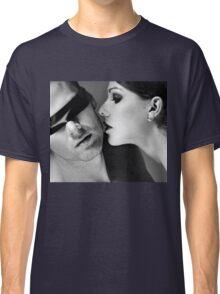 New Desire - sexy prefect calm love erotic art  t-shirts fetish black white valentine beautiful dark Classic T-Shirt