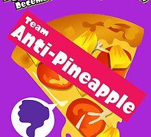 Splatfest Team Anti-Pineapple v.1 by KumoriDragon