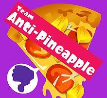 Splatfest Team Anti-Pineapple v.2 by KumoriDragon