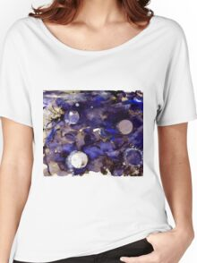 Inky Cosmos Women's Relaxed Fit T-Shirt