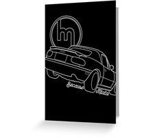 Because Miata Greeting Card