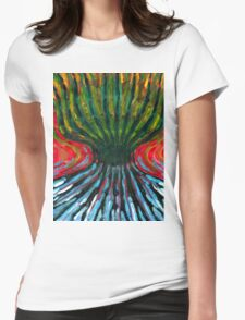 Odd Tree Womens Fitted T-Shirt