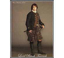 Outlander/Lord Broch Tuarach painting. Photographic Print
