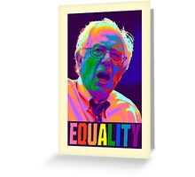 Bernie Equality Greeting Card