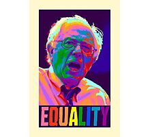 Bernie Equality Photographic Print
