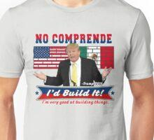 Trump 2016 Build the Wall Original Digital Art Unisex T-Shirt