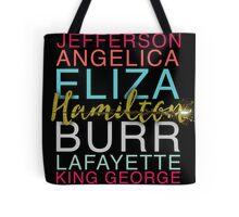 Hamilton's Shot Tote Bag