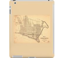 Map of Georgetown D.C. (District of Columbia) 1874 iPad Case/Skin