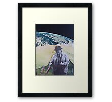 Man on a Mission to Mars Framed Print