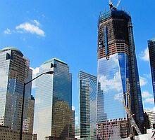 Freedom Tower - New World Trade Center, New York City by Alberto  DeJesus